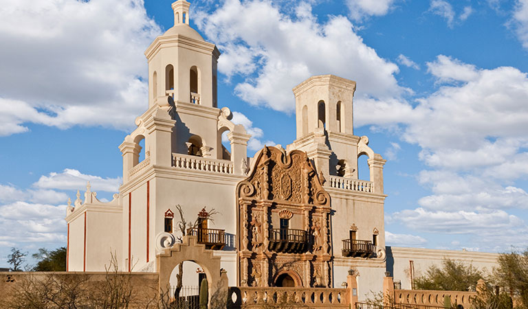 San Xavier Del Bac at Arizona