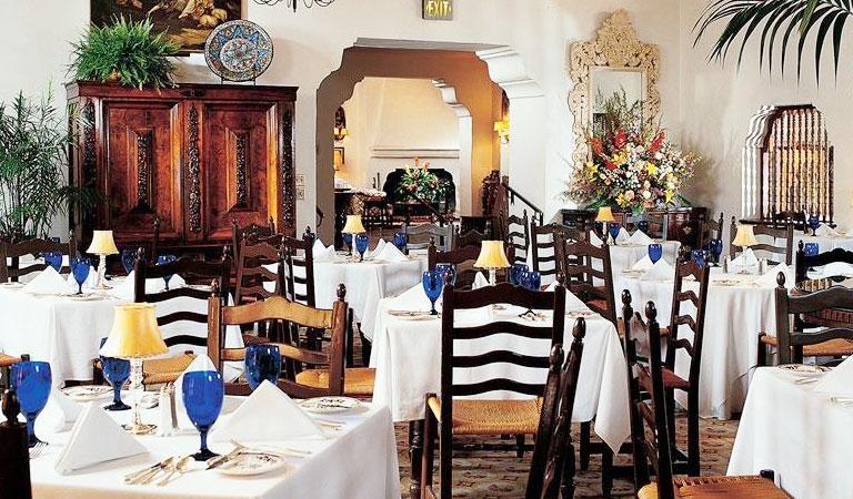 Main Dining Room at Arizona Inn, Tucson