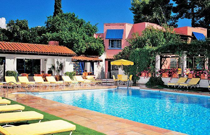 Arizona Inn, Tucson Outdoor Pool & Cabana