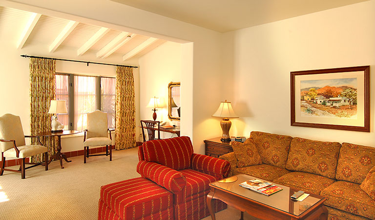 Deluxe Patio Suite at Arizona Inn, Tucson